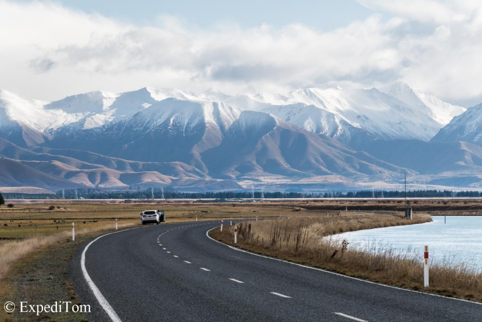 Stunning vistas during the South Island sojourn
