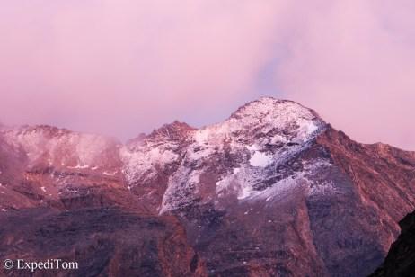 Evening mountain mood