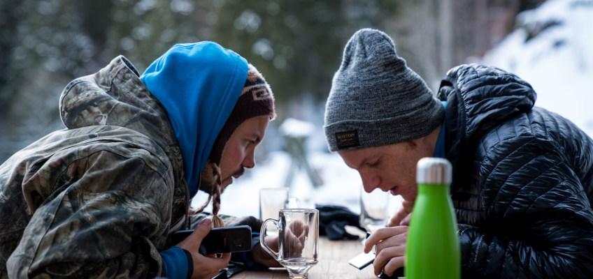 Hot drinks at Plattenbödeli