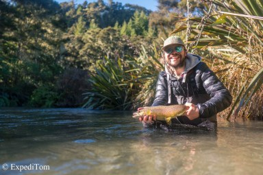 Fly Fishing with Taimen Menza Sonic waders