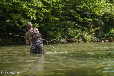 André fly fishing streamers
