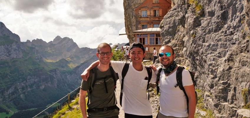 Hiking in Switzerland (Aescher)