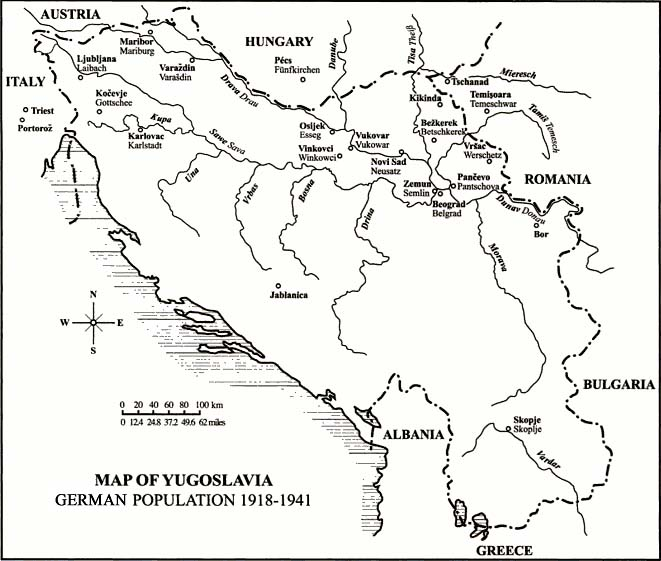 Black And White Map Croatia