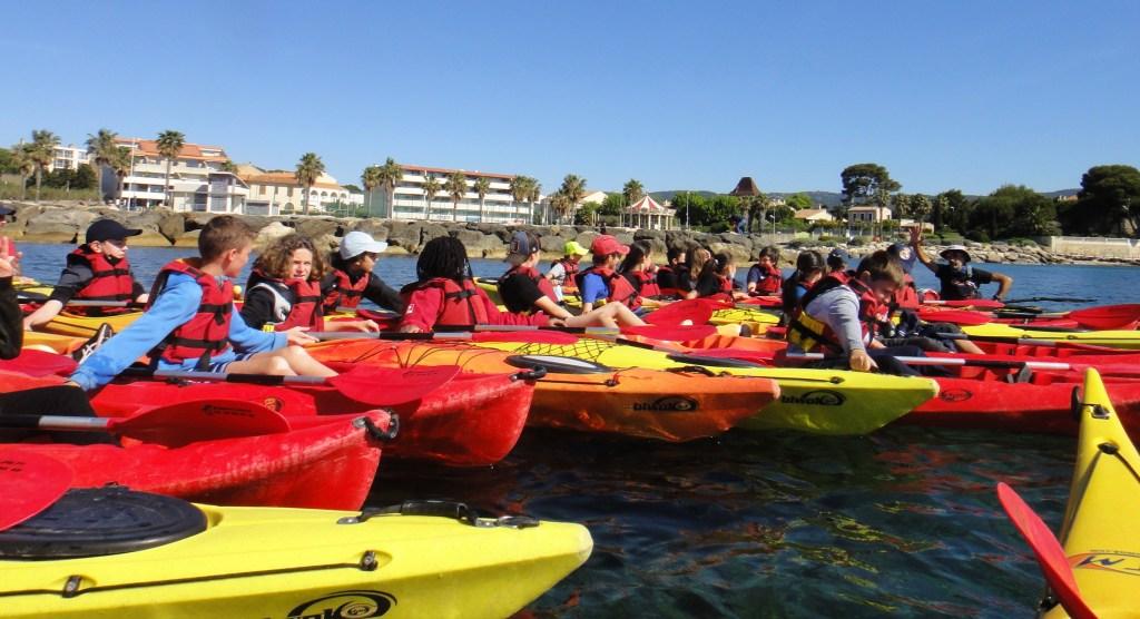 2021-05-12 cycle scolaire kayak de mer la Ciotat