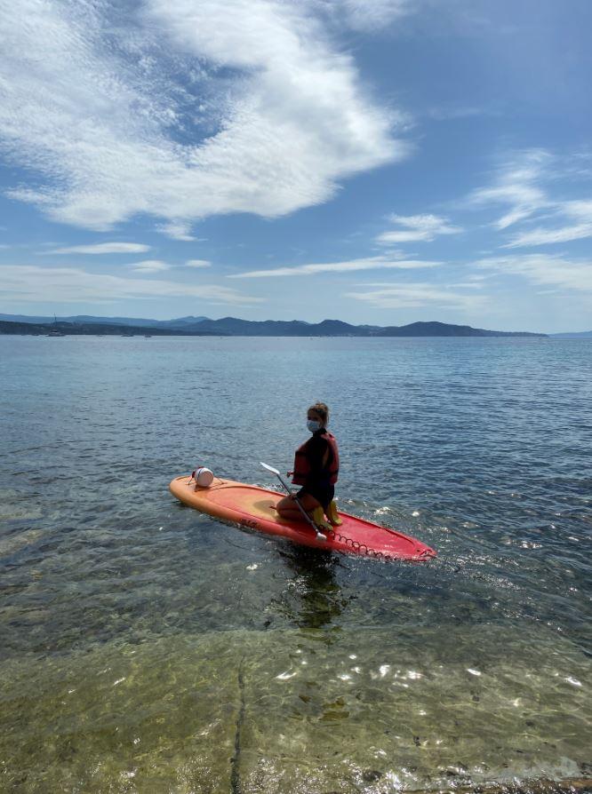 2021-06-03 Location kayak paddle calanques de la Ciotat