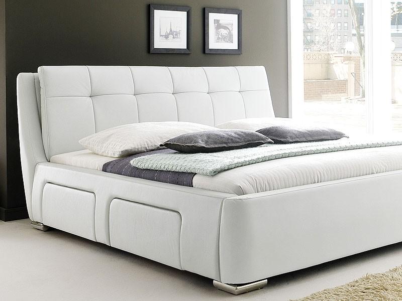 Doppelbett 180x200 Mit Bettkasten Bett Grau 140x200