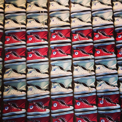 Converse flagship store in Soho New York