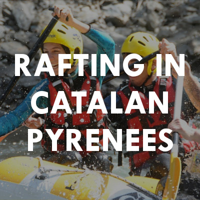 Rafting in catalan Pyrenees