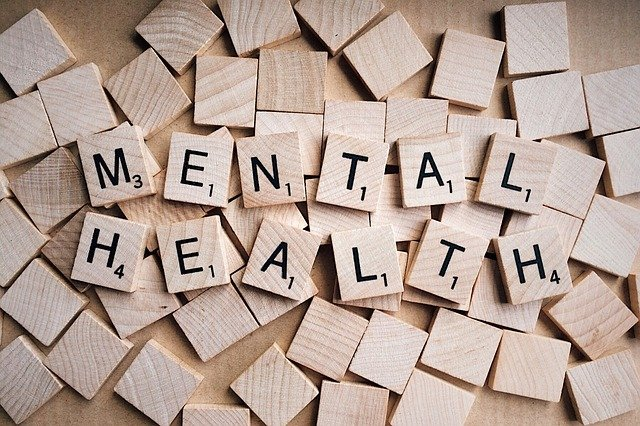 mental health spelled out on game tiles