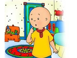 Former Child Star, Caillou, Arrested! Read all about it.