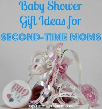 Baby Shower Gift Ideas for Second