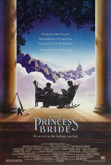 The Princess Bride, one of five fun family flicks to watch with tweens according to ExperiencedBadMom.com