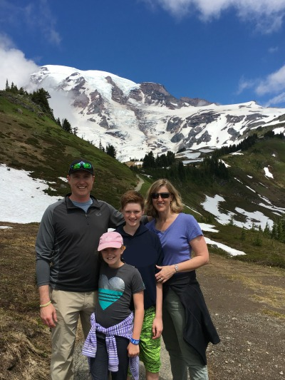 Seen and unseen on our family vacation Mount Rainier