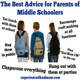 Advice Parents Middle School