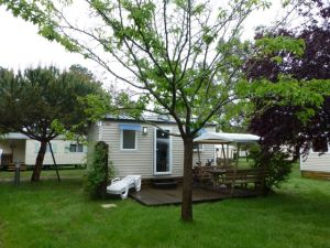 """Our """"home"""" at Camping Les Ourmes"""