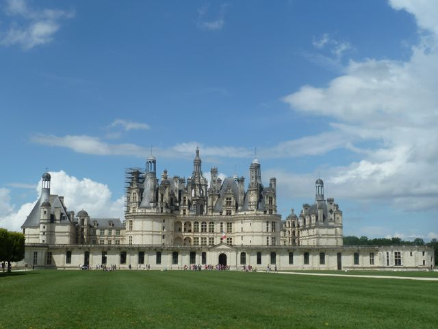 Bicycling through the forest to Chambord is a once-in-a-lifetime experience!