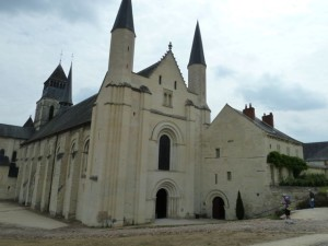 The magnificent Fontevraud Abbey