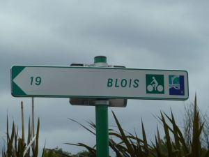 Follow this sign to Blois