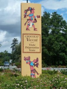 Tours at the Vauche Chocolate company in Bracieux are popular