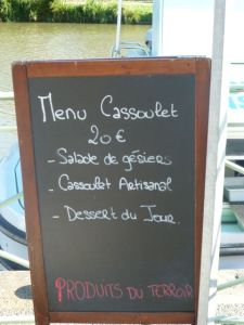 Cassoulet for dinner?