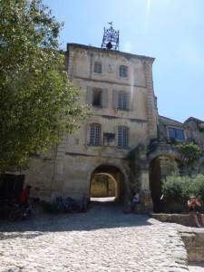 Entrance to Oppede-le-Vieux