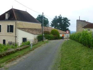 Bicycling the backroads near Saint Emilion