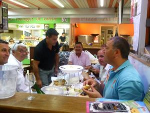 Enjoy dining at the market just like the French!