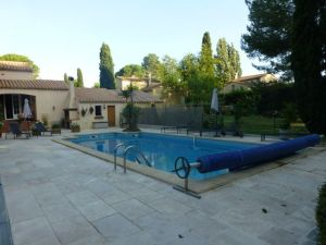 The pool at La Colombiere
