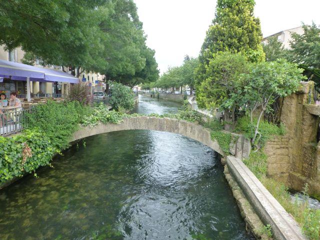Isle-sur-la-Sorgue, the Venice of France