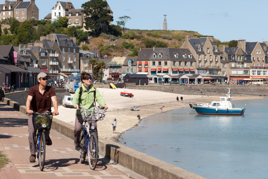 St-Malo, ending point for the Petit Tour de Manche (Cycle West Photo)