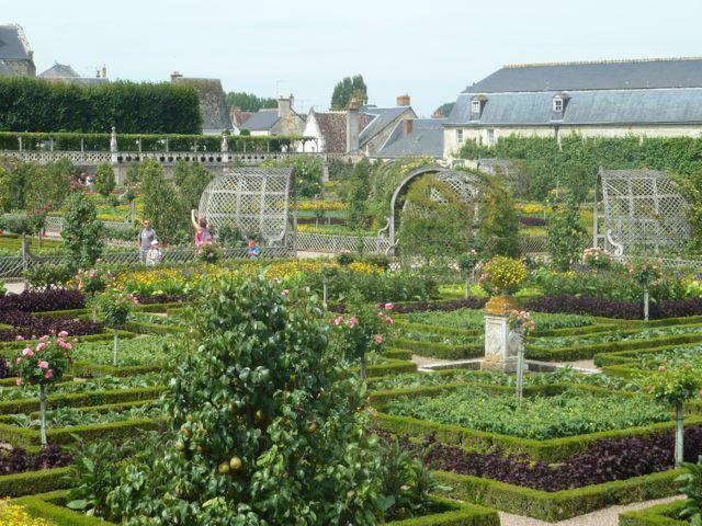 More Villandry gardens