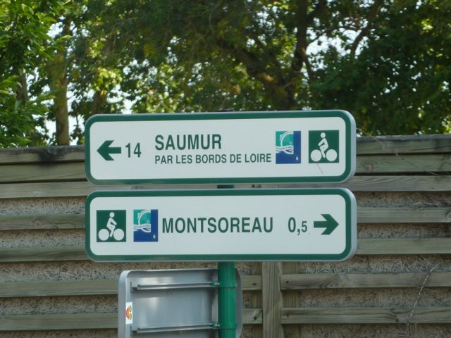 Signposting along the Loire