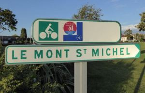 Petit Tour de Manch symbol was the constant to watch for on signs