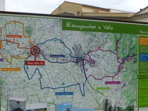 Guide to local cycling circuit outside of Avignon