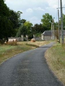 EuroVelo 6, La Loire a Velo on quiet country roads