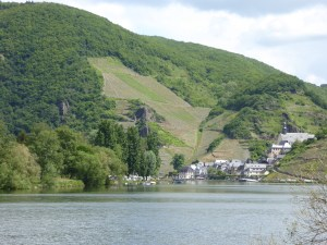 The peaceful Mosel in Beilstein, a favorite town