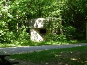Worl War II German bunkers