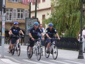 Literally everyone bicycles in Strasbourg!