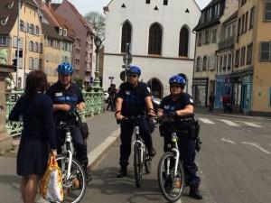 Everyone bikes in Strasbourg!