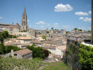 The beautiful, charming wine village of St. Emilion
