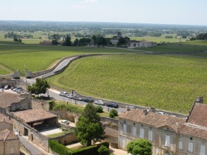 Just one of the vistas you'll enjoy bicycling in Saint-Emilion