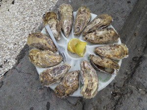 One of my favorite snacks/dinner in Brittany and Languedoc