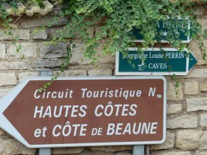 The Cote de Beaune in Burgundy, one of my favorite routes