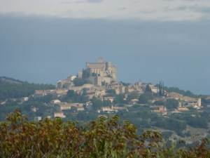 The charming town of Bedoin