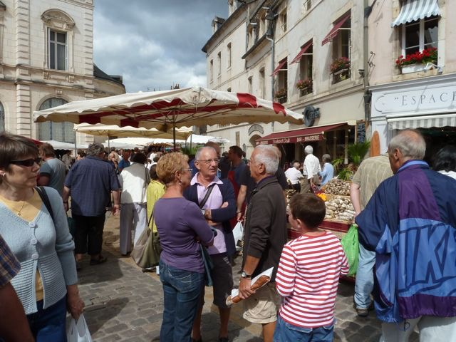 The market is the social event of the week in France