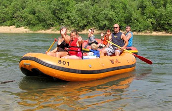 Half Day Raft Rentals