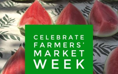 A New View of Healthy Eating by Melanie Albert: Celebrating National Farmers' Market Week!