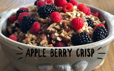 Experience Nutrition: Aromatic Apple Berry Crisp: Delicious Plant-Based Desserts by Melanie Albert, Part 3 of 4