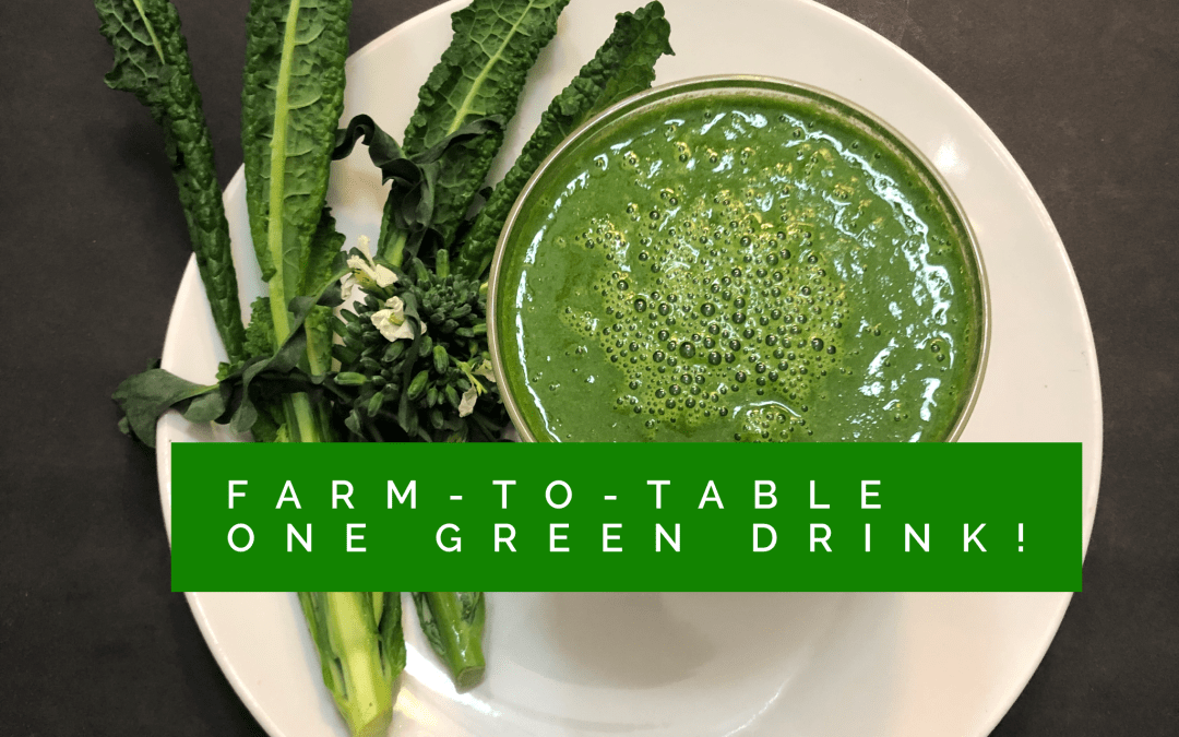 Experience Nutrition: Farm-to-Table Cooking with The Farm at South Mountain: 15 Arizona Greens & 1 Green Drink
