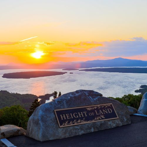 Best natural attractions in Rangeley: Height of Land